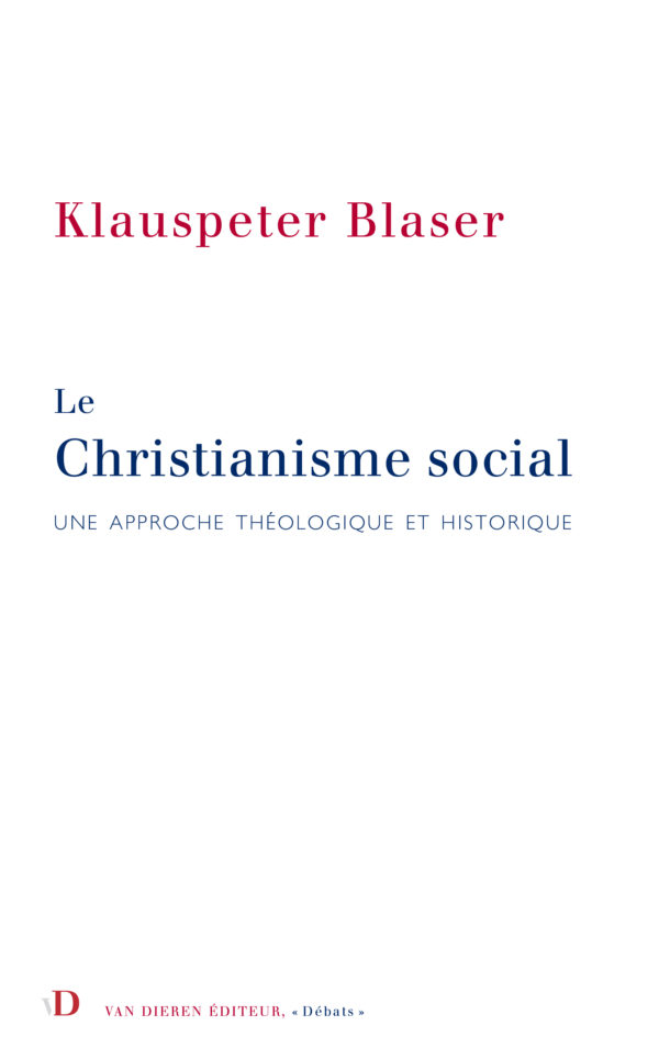 Le Christianisme social