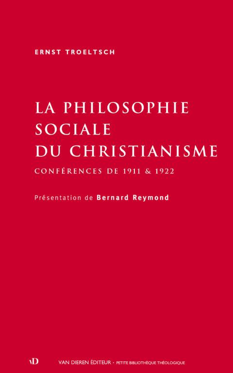 La Philosophie sociale du christianisme