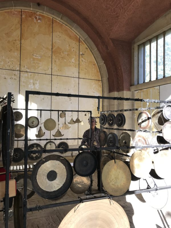 Jean-Luc Bourgeois aux gongs…